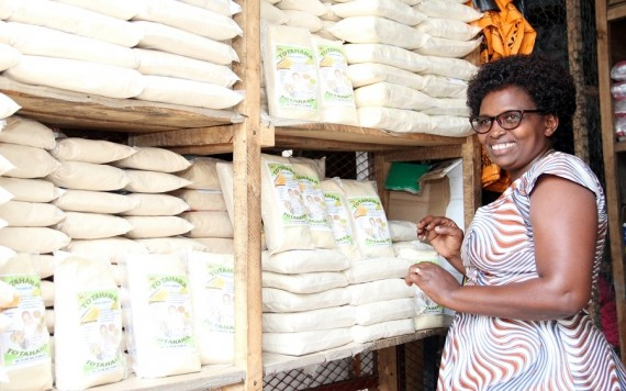 TAAT catalyses commercialisation of High Iron Beans in Burundi