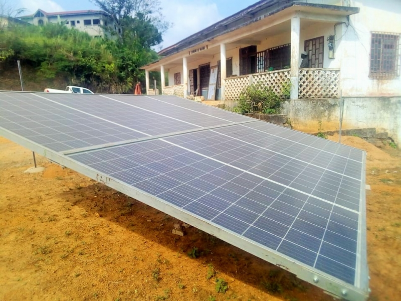 "Solar success in rural Cameroon: ""Feeding hospitals with clean energy"""
